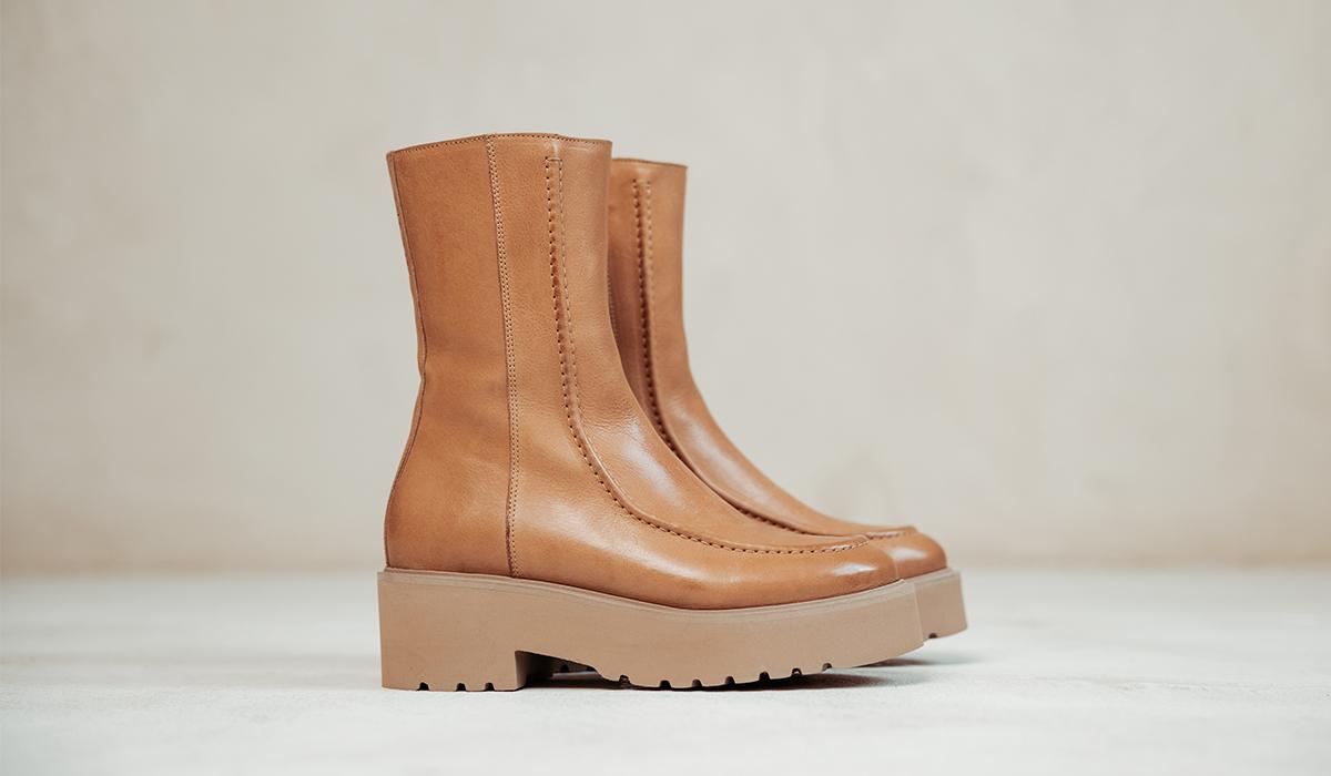 VIA VAI boots: Bobbi Mint