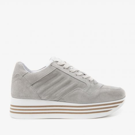 Mila Bow grey sneakers