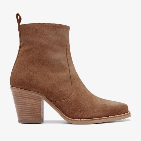 Anika Bizz brown ankle boots