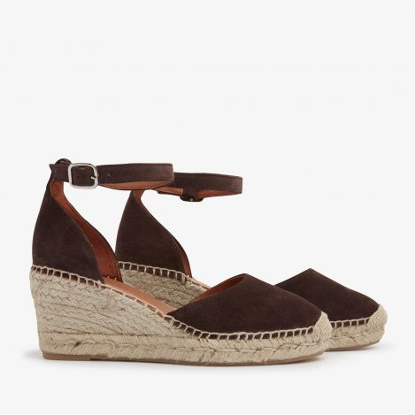 Flora Braid brown espadrilles