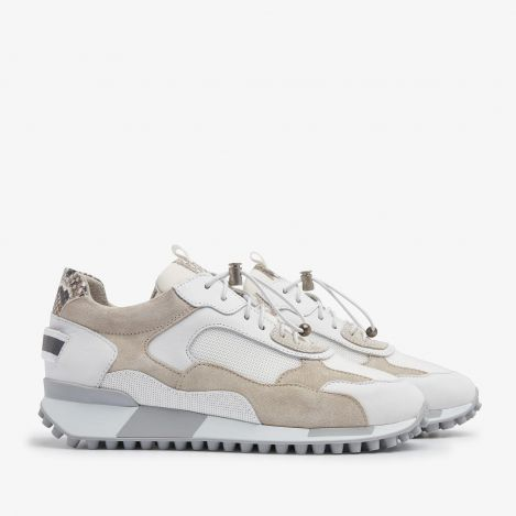 Giulia Twist white sneakers