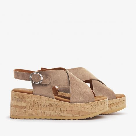 Sissel Raise beige sandals