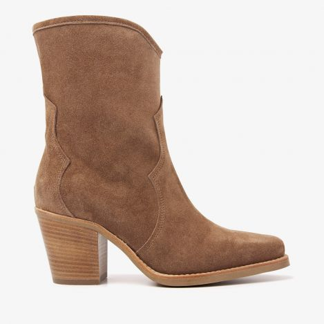 Anika Cliff brown ankle boots