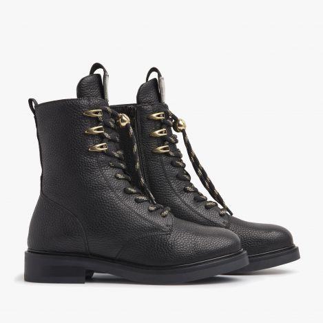 Viola Lake zwarte biker boots