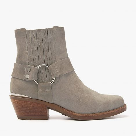 Paige Lou grey ankle boots