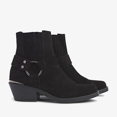 Paige Lou black ankle boots