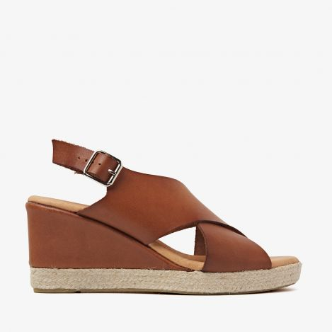 Paula Grace sandals cognac