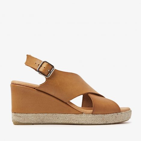 Paula Grace brown sandals