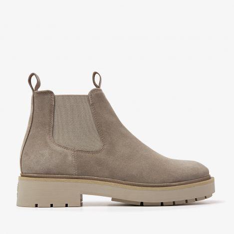 Alexis Zen grijze chelsea boots