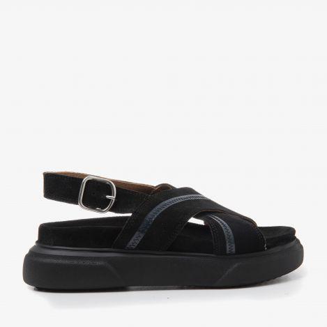 Maddison Daze zwarte sandalen