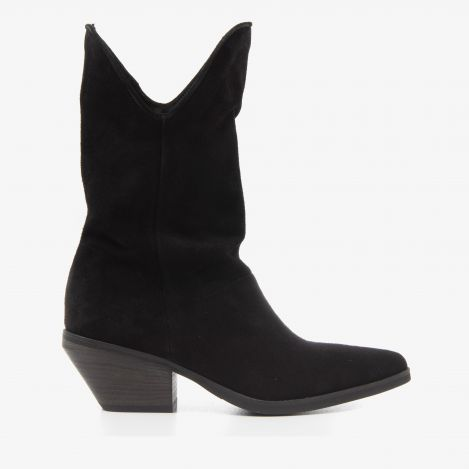 Jil East black ankle boots