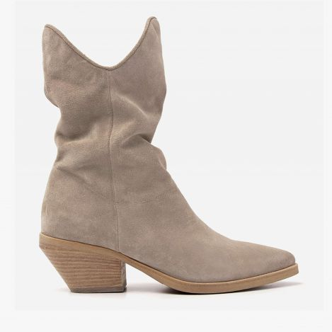 Jil East beige ankle boots
