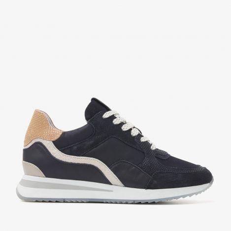 Nora Sooth blauwe sneakers
