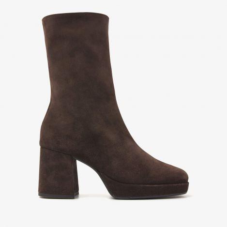 Lilla Seven brune ankelstøvler