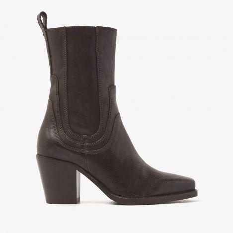 Anika Chase brune ankelstøvler