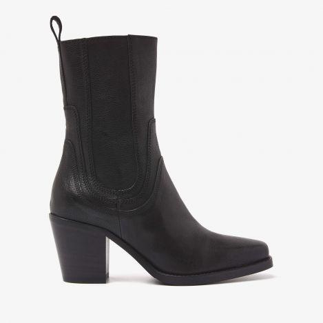 Anika Chase sorte ankelstøvler