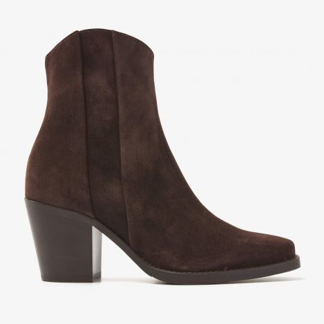 Anika Beau brune ankelstøvler