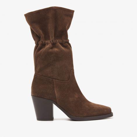 Anika Dust brune mellemhøje støvler