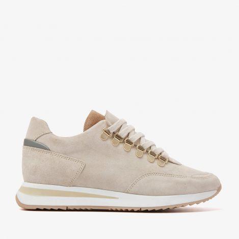Nora Sade beige sneakers