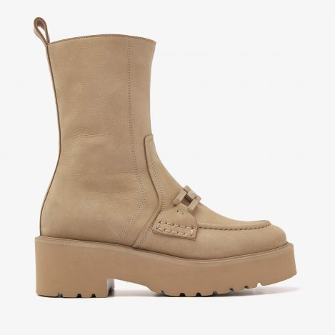 Bobbi Muse beige boots