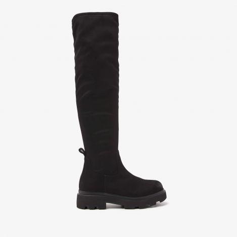 Livia Top zwarte hoge laarzen