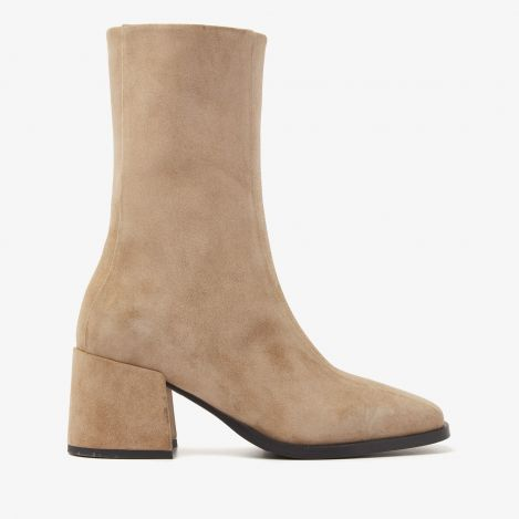 Indy Lott beige ankle boots