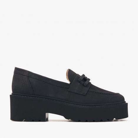 Lois Brake zwarte loafers