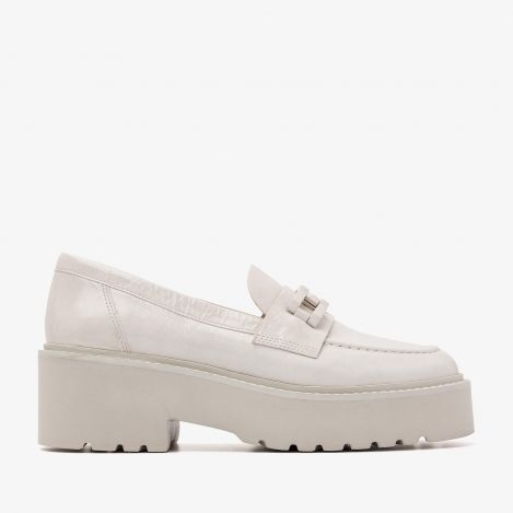 Lois Brake witte loafers