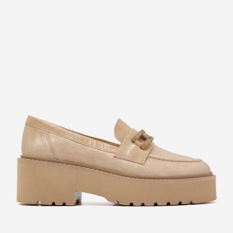 Lois Brake beige loafers