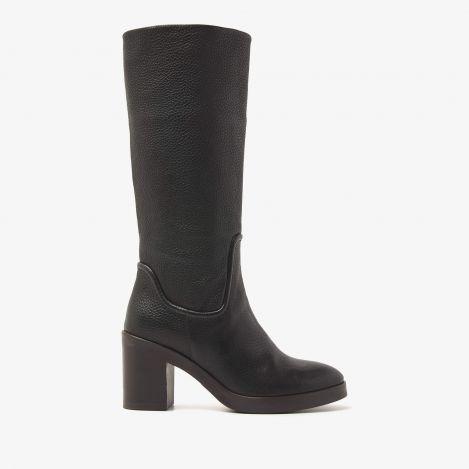 Taara Seam zwarte hoge laarzen