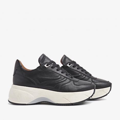 Naja Cloud zwarte sneakers