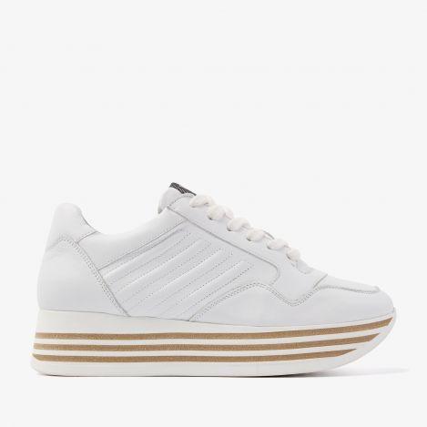 Mila Bow white sneakers