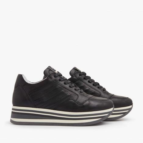 Mila Bow zwarte sneakers
