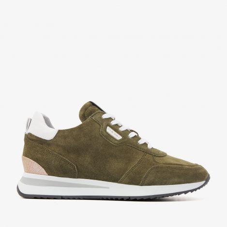 Nora Sam groene sneakers