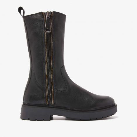 Alexis Macc zwarte biker boots