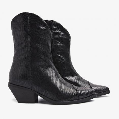 Jil Dash black ankle boots
