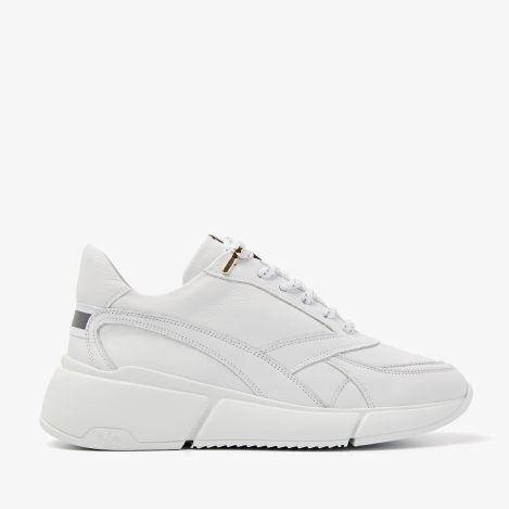 Celina Jae white sneakers
