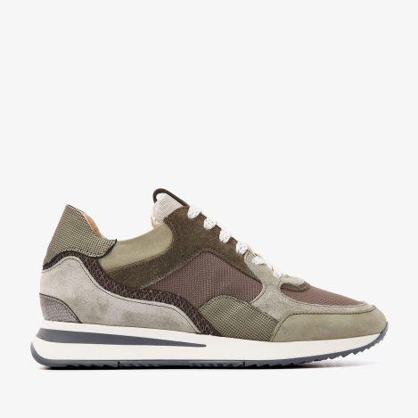 Nora Sooth grønne sneakers