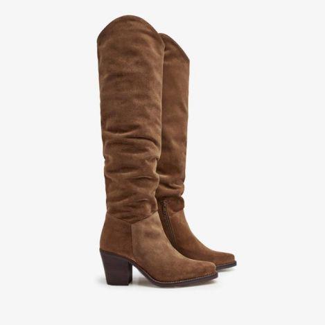 Anika Thrive brune høje støvler