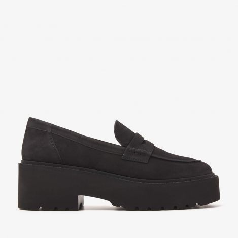 Lois Bell black loafers