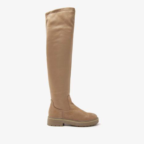 Alexis Max beige hoge laarzen