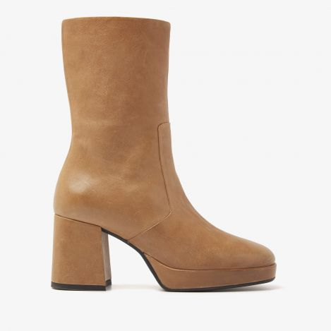 Lilla Flair beige ankle boots