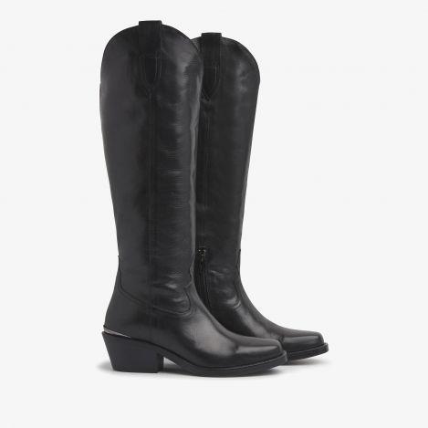 Paige Reign black high boots
