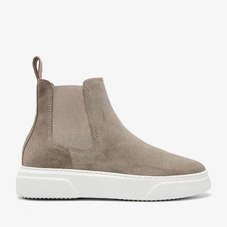 Juno Levy grey chelsea boots