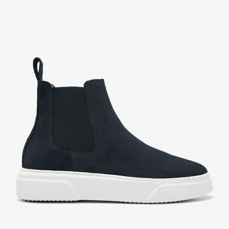 Juno Levy blue chelsea boots