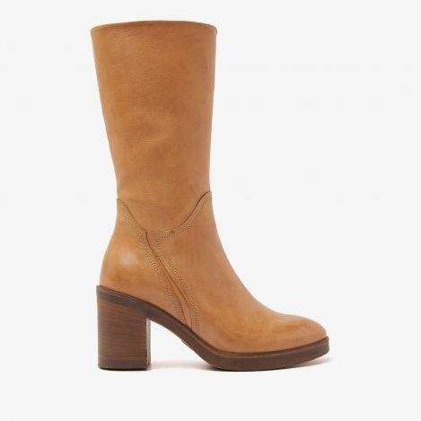 Taara Stace bruine halfhoge laarzen