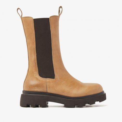 Livia Blake bruine chelsea boots