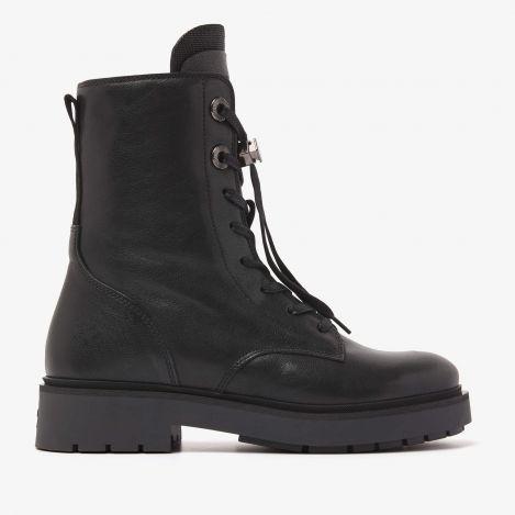 Alexis Lucca sorte snørestøvler