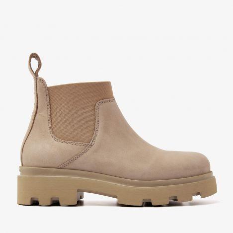 Livia Bo beige chelsea boots