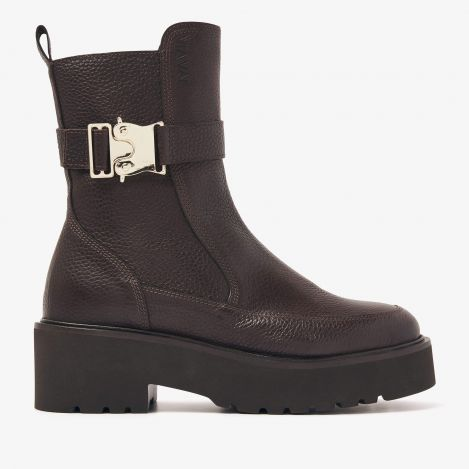 Bobbi Moss bruine boots